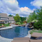 landscape design ideas for pool areas